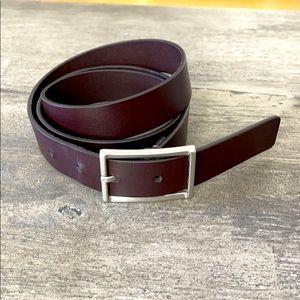 Men's dark brown ck belt size 90 cm (36 in)